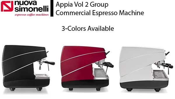 Nuova Simonelli appia review - colors available - features - specs - price
