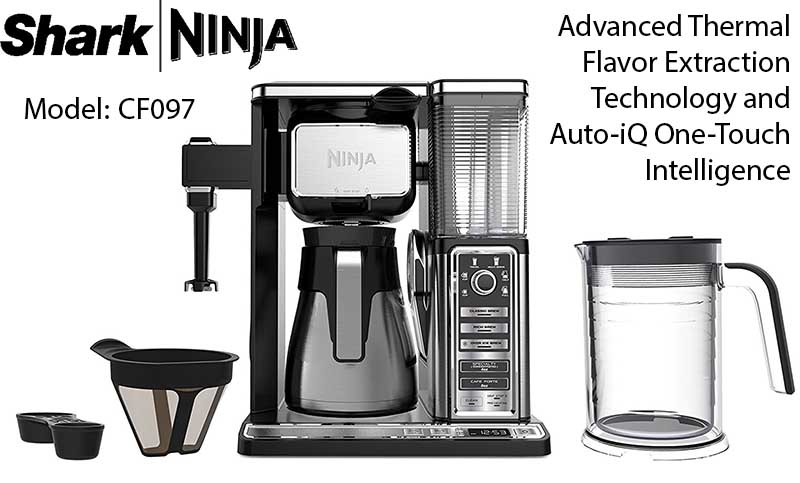 Shark Ninja Coffee Bar Brewer System Review