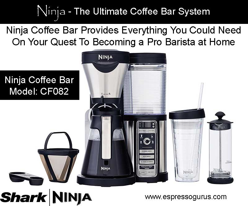 The Best Coffee Bar System - Ninja Coffee Bar Brewer CF082 - Expert Review