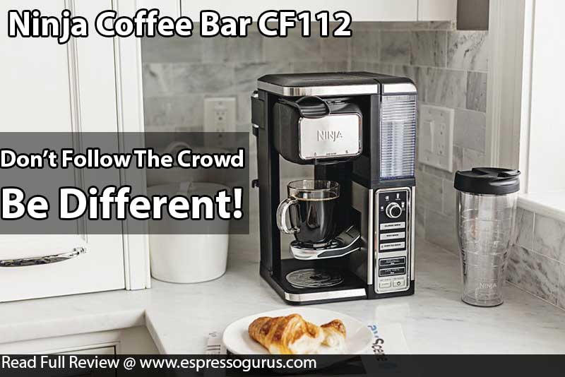 The Best Coffee Maker Ranked - Ninja Coffee Bar Single Serve System With Built in Frother CF112 Expert Review