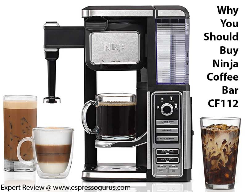 Why You Should Buy Ninja Coffee Bar Single Serve System with Built in Frother CF112 - Expert Review
