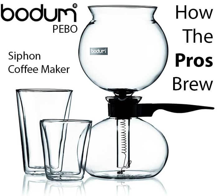 Best Vacuum Coffee Maker - Best Siphon Coffee Maker - Bodum PEBO Review