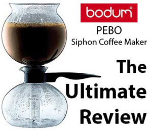 Bodum vacuum coffee maker