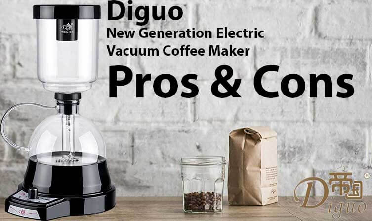 Electric Vacuum Coffee Maker Pros & Cons