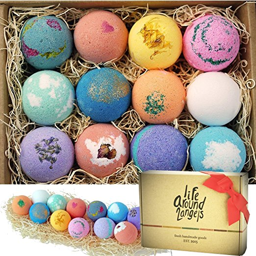 Female Gift Set - Bath Bombs made in USA - Perfect gift for women