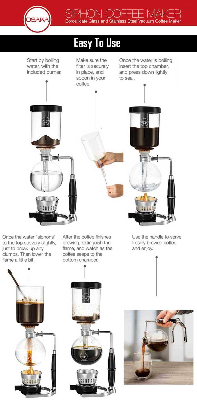 How To Use A Vacuum Coffee Maker - How To Use Siphon Coffee Makers