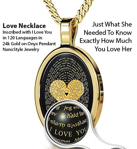Nano Jewelry - Love Necklace - Unique Gift Ideas Of 2017 For the special Lady