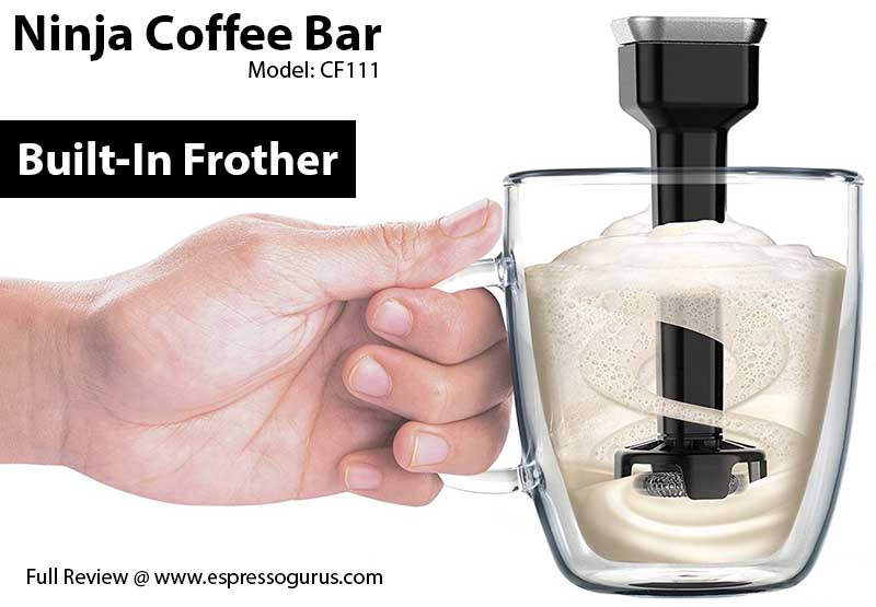 Ninja Coffee Bar CF111 Expert Review - Built In Frother - How To Use Ninja Coffee Bar