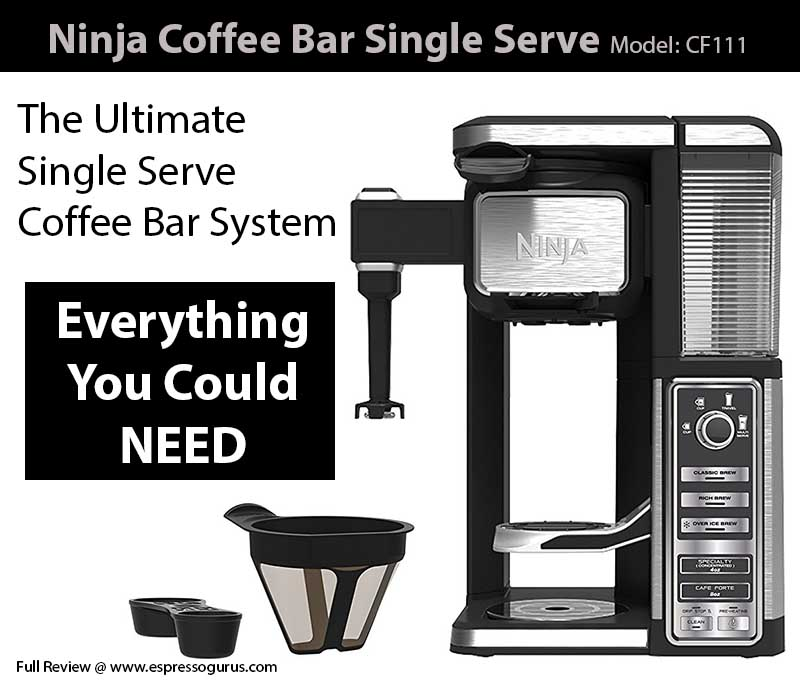 Ninja Coffee Bar Single Serve System CF111 Expert Review