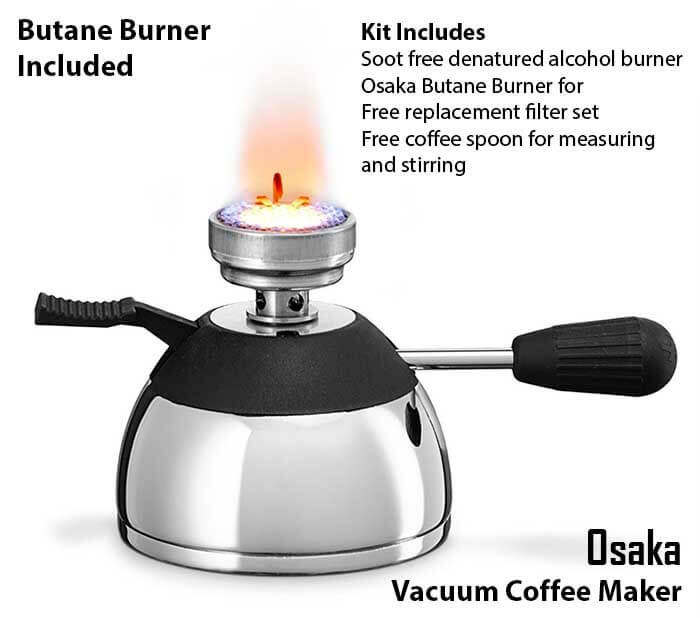 Osaka Best Vacuum Coffee Maker - Best Siphon Coffee Maker Ranked