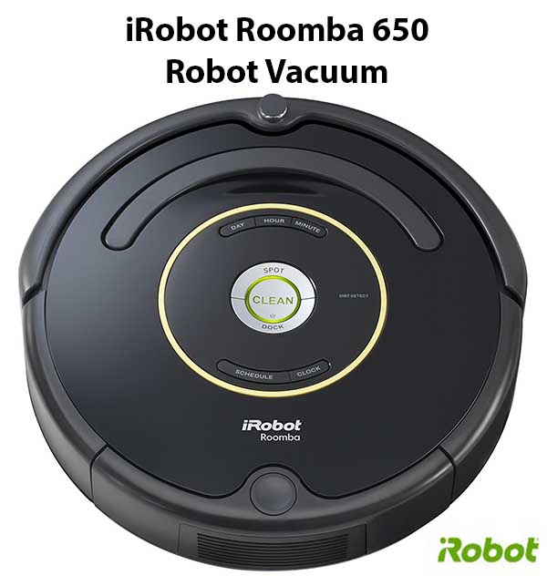 The perfect gift idea - iRobot Roomba 650 Robot Vacuum - Best gift for holiday season for seniors