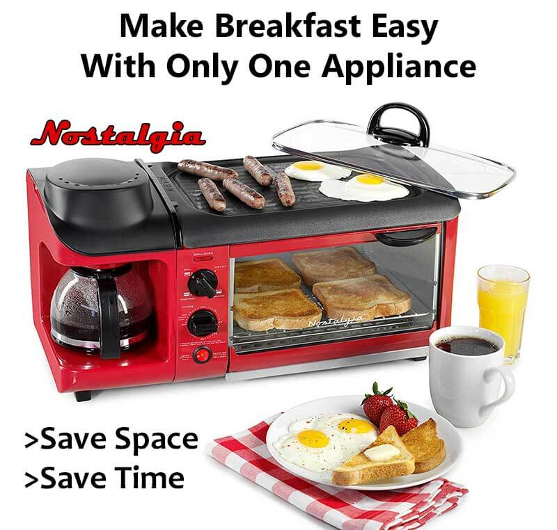best all in one breakfast maker espresso guru. Black Bedroom Furniture Sets. Home Design Ideas