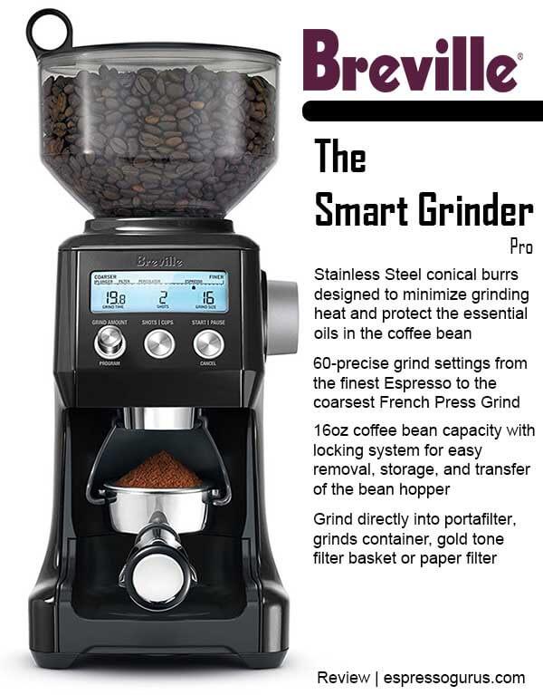 Breville Coffee Maker Grinder Not Working : Breville Smart Grinder Pro Review Espresso Guru