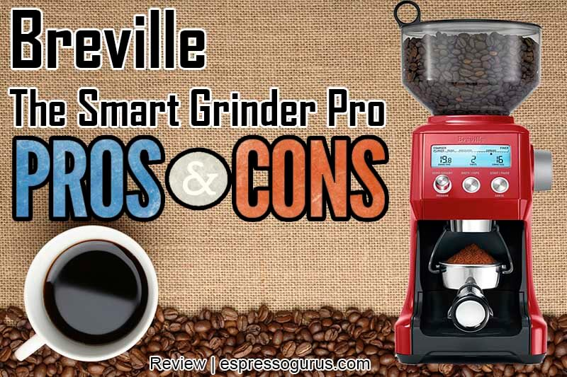 Breville The Smart Grinder Pro and Cons
