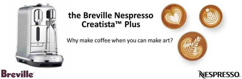 Breville Nespresso Creatista Plus Full Review