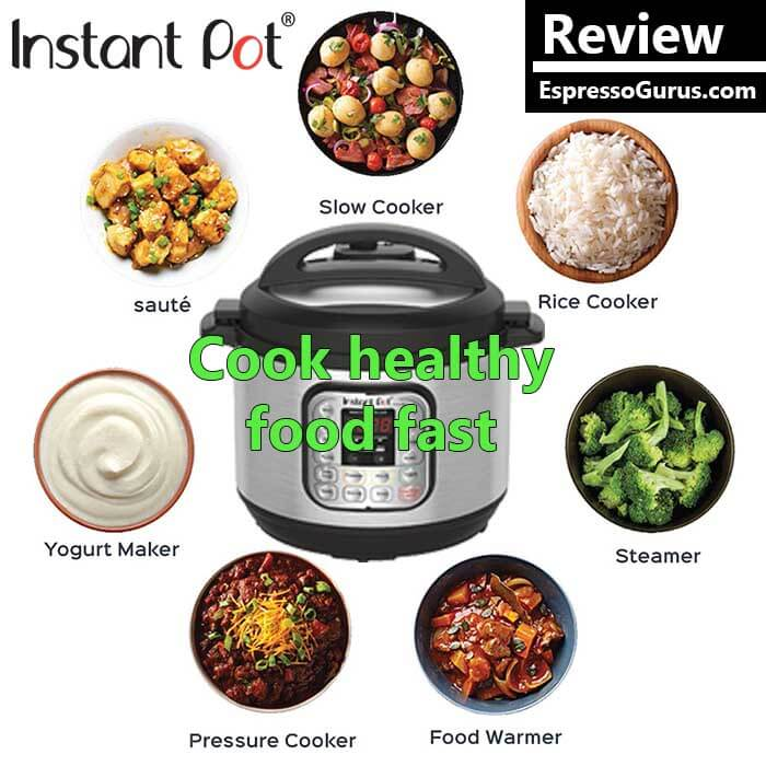 How To Cook Healthy Food With Instant Pot - Instant Pot Review