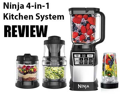 Ninja 4 In 1 Kitchen System Review Best Kitchen Blender