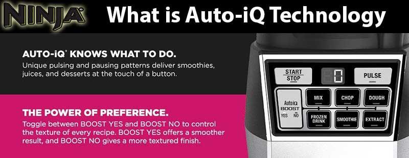 Ninja Kitchen Blender Auto iQ Technology Explained