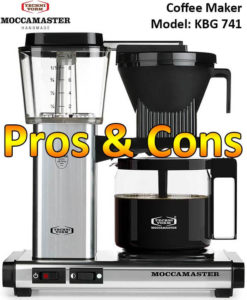 Technivorm Moccamaster Kbg 741 Drip Coffee Maker Pros