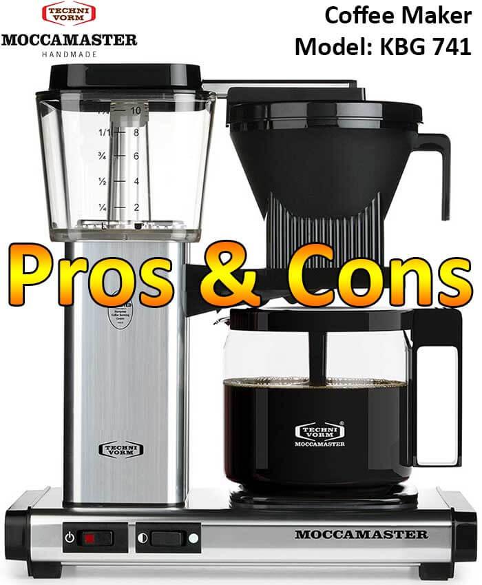 Technivorm Moccamaster KBG 741 Drip Coffee Maker Pros & Cons - Espresso Gurus Expert Review