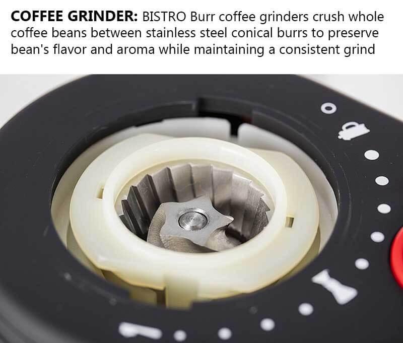 The Best Burr Coffee Grinder Ranked - Bodum Bistro