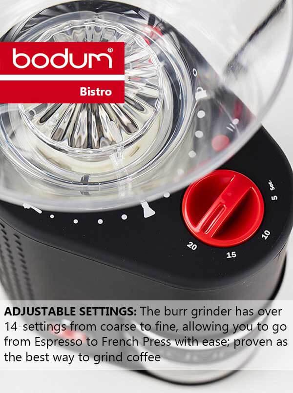 Why Bodum Bistro is the Best Burr Coffee Grinder - Bodum Bistro Review