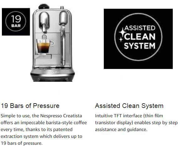 Breville Nespresso Creatista Plus In depth Review