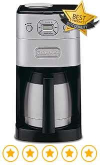 Cuisinart Dgb900bcu Grind And Brew Coffee Maker Review : Cuisinart DGB 650BC Grind & Brew Coffee Maker Price Espresso Guru