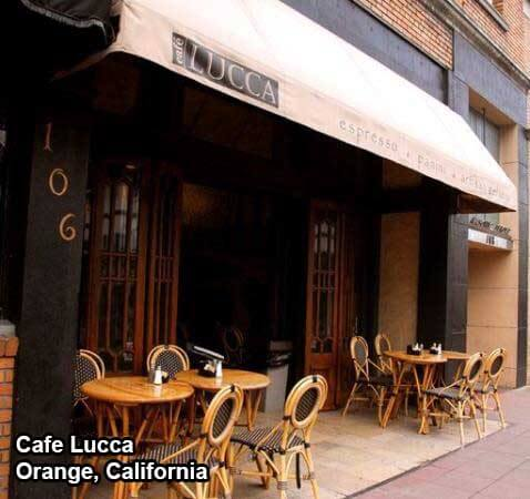 cafe lucca ranked best coffee shop in orange California