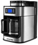 Gourmia grind and brew coffee maker price