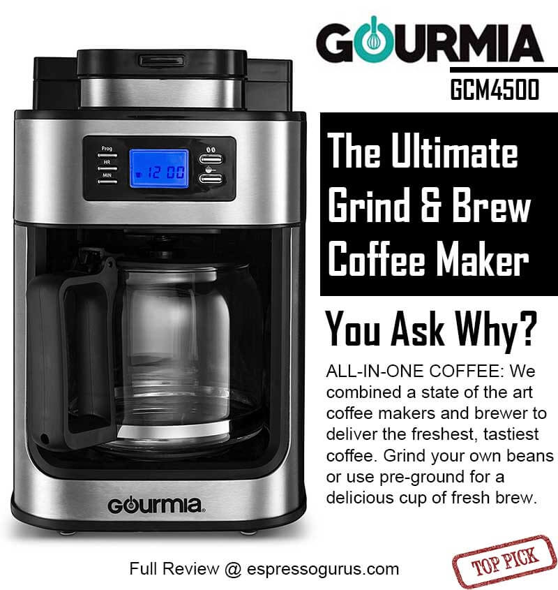 Reviews Of Grind And Brew Coffee Maker : Best Grind And Brew Coffee Maker Ranked 2018 Buyers Guide