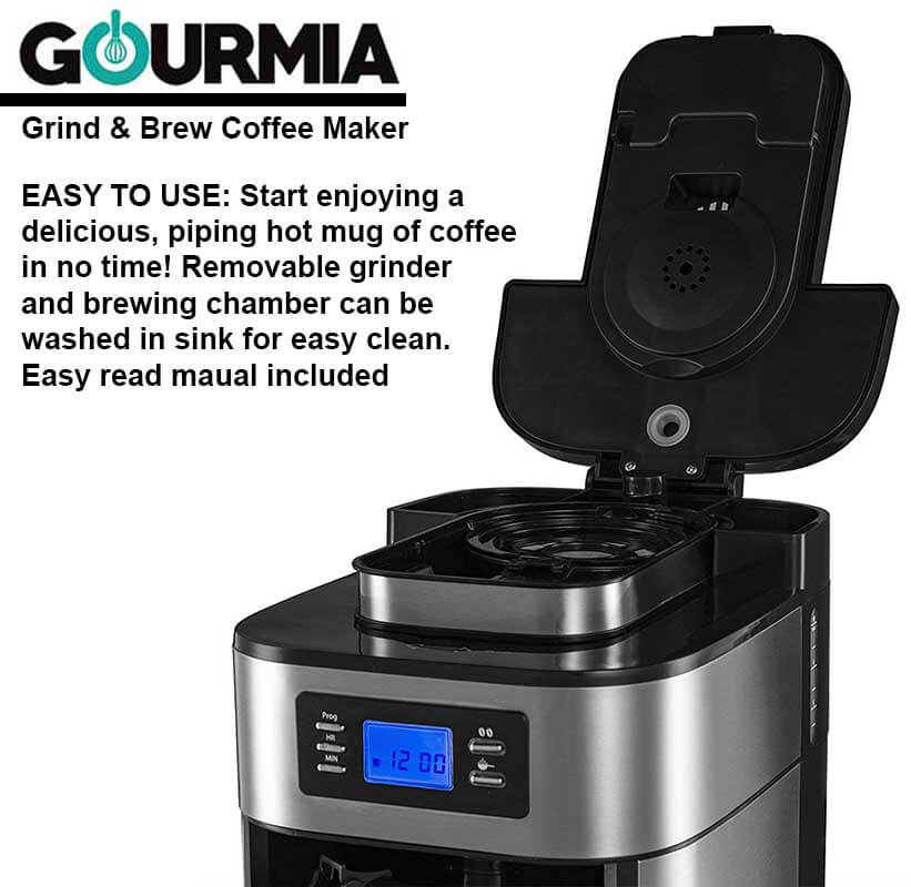 Best Grind And Brew Coffee Maker Ranked 2018 Buyers Guide