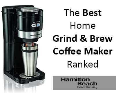 hamilton beach best grind and brew coffee maker review. Black Bedroom Furniture Sets. Home Design Ideas