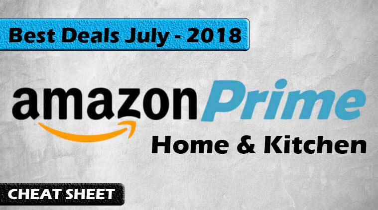 amazon prime day 2018 best deals for home and kitchen. Black Bedroom Furniture Sets. Home Design Ideas