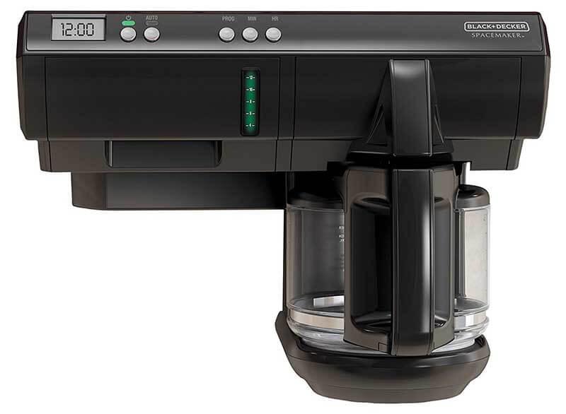 Black Decker Scm1000bd Spacemaker Under The Cabinet Coffee
