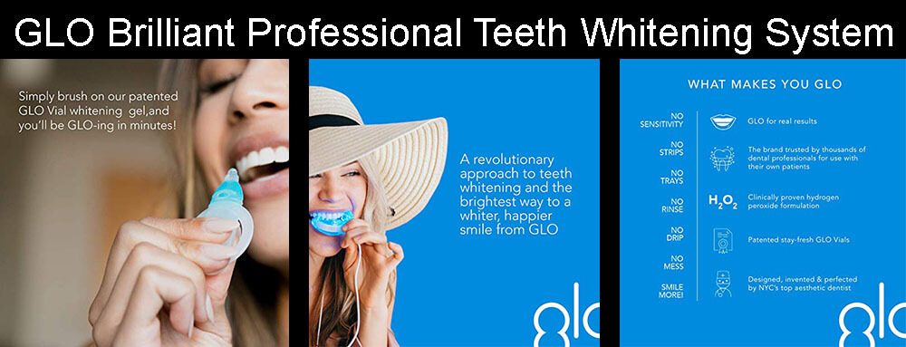 GLO Brilliant Professional Teeth Whitening System Review